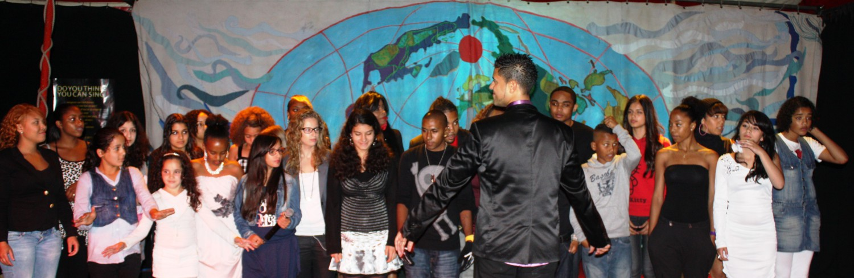 jongeren actie koor